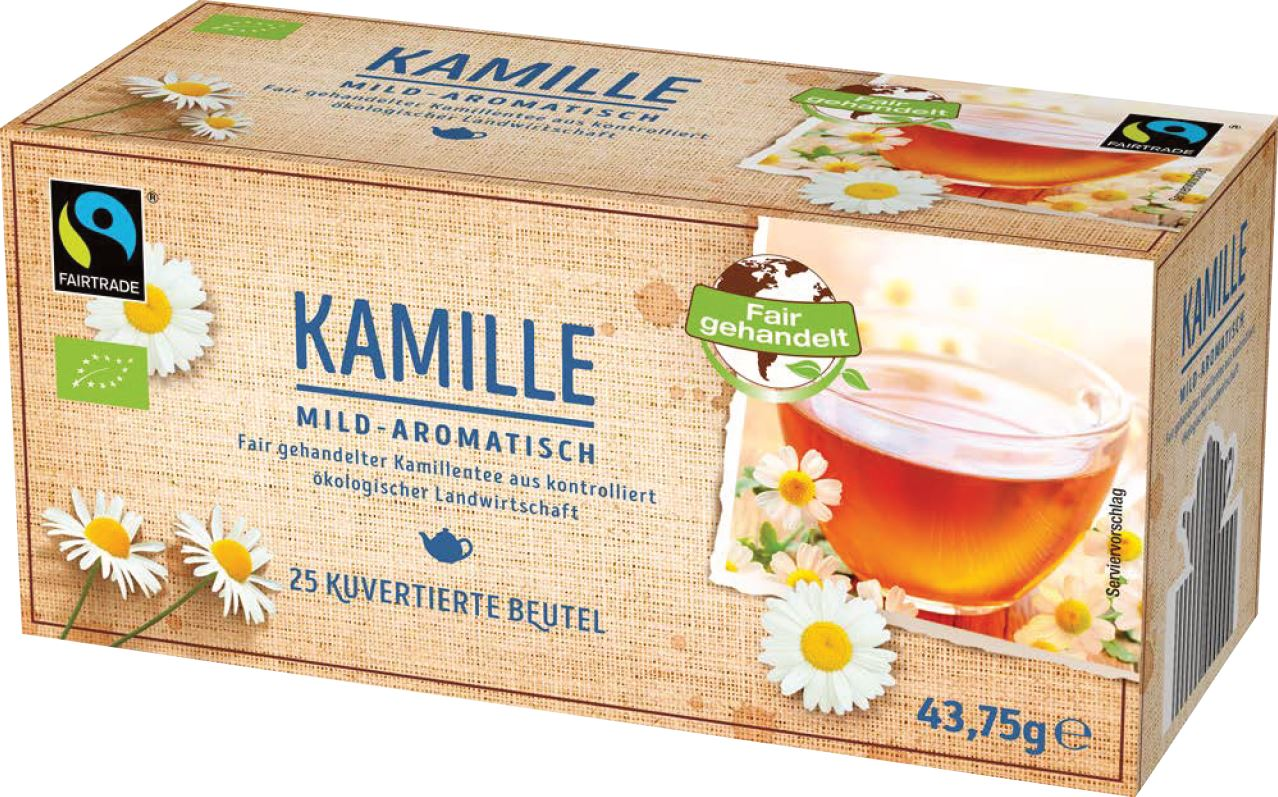 Fairtrade Kamillentee