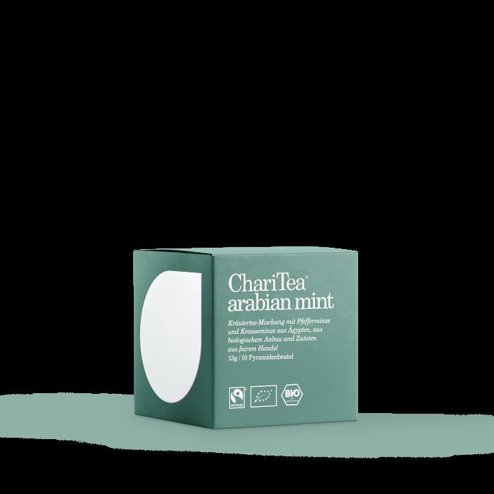Charitea arabian mint - 10x1,3g Pyramide