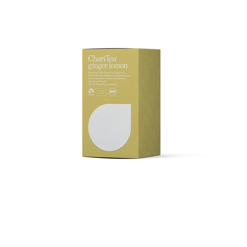 Charitea ginger lemon - 20x2,0g Doppelkammer