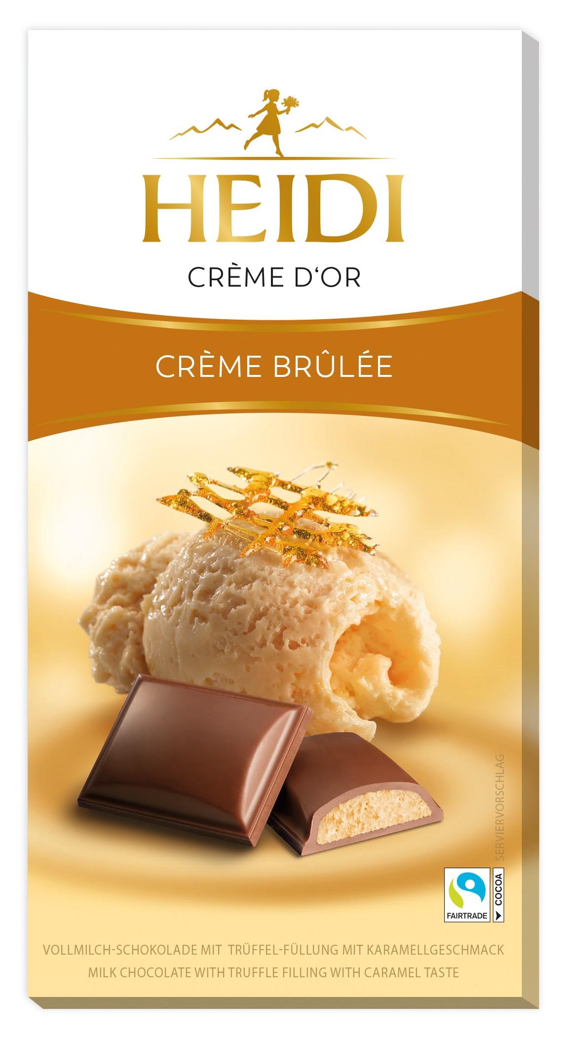 Creme Brulee Schokoladetafel