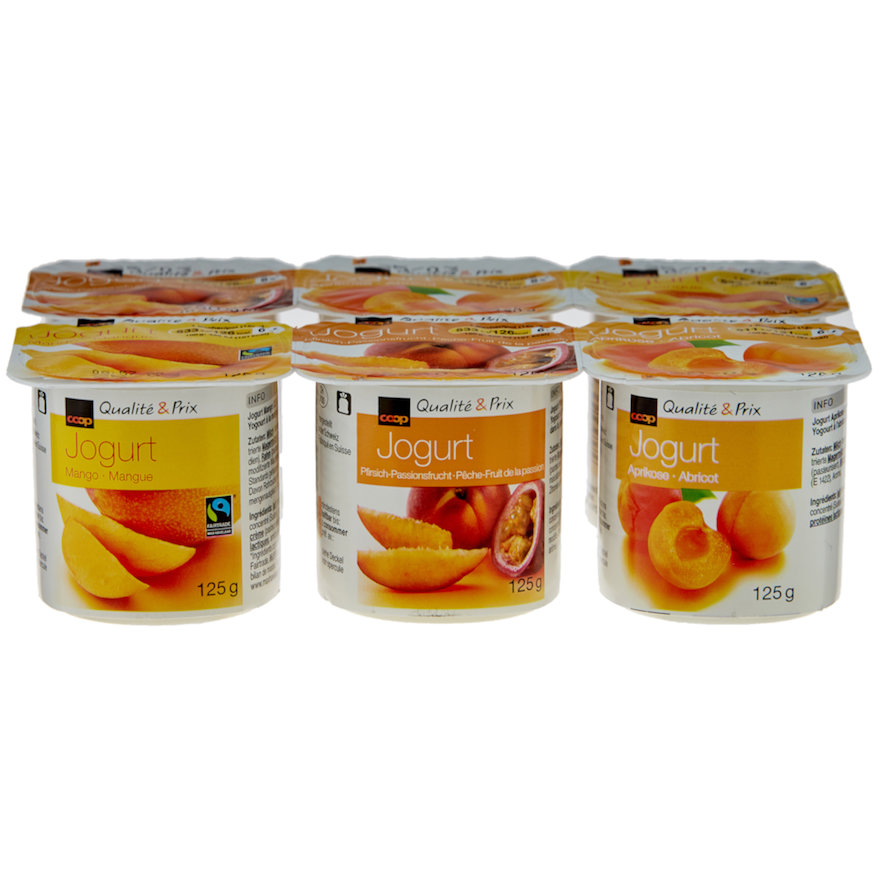 Jogurt assortiert (6x125g)