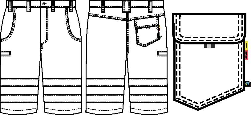 Bermuda und Shorts