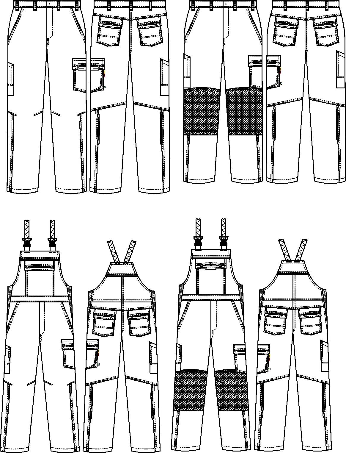 Hosen und Latzhosen 65