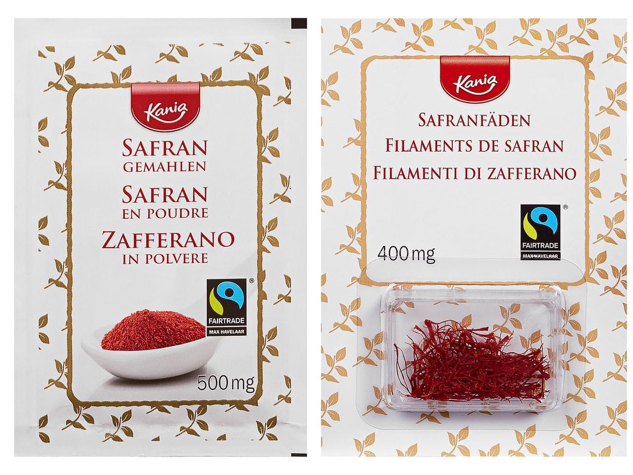 Safran, gemahlen (4 Beutel)