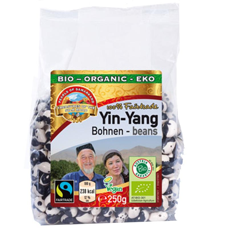 Yin Yang Bohnen
