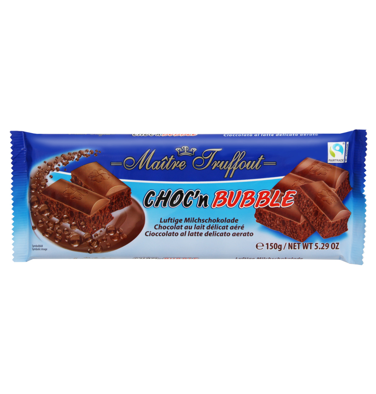 Choc´n Air luftige Milchschokolade