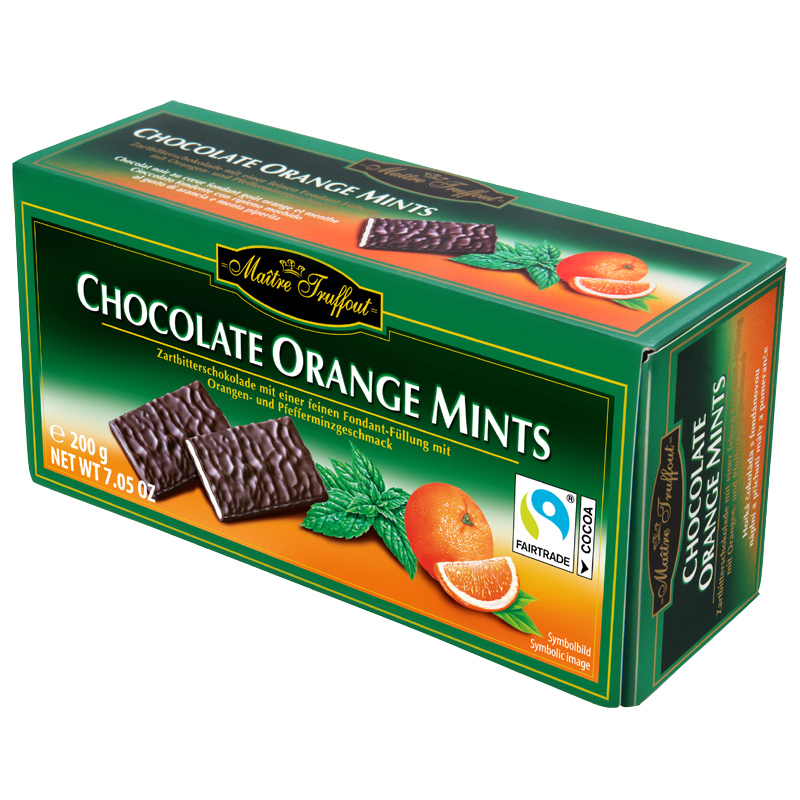 Chocolate Orange Mints