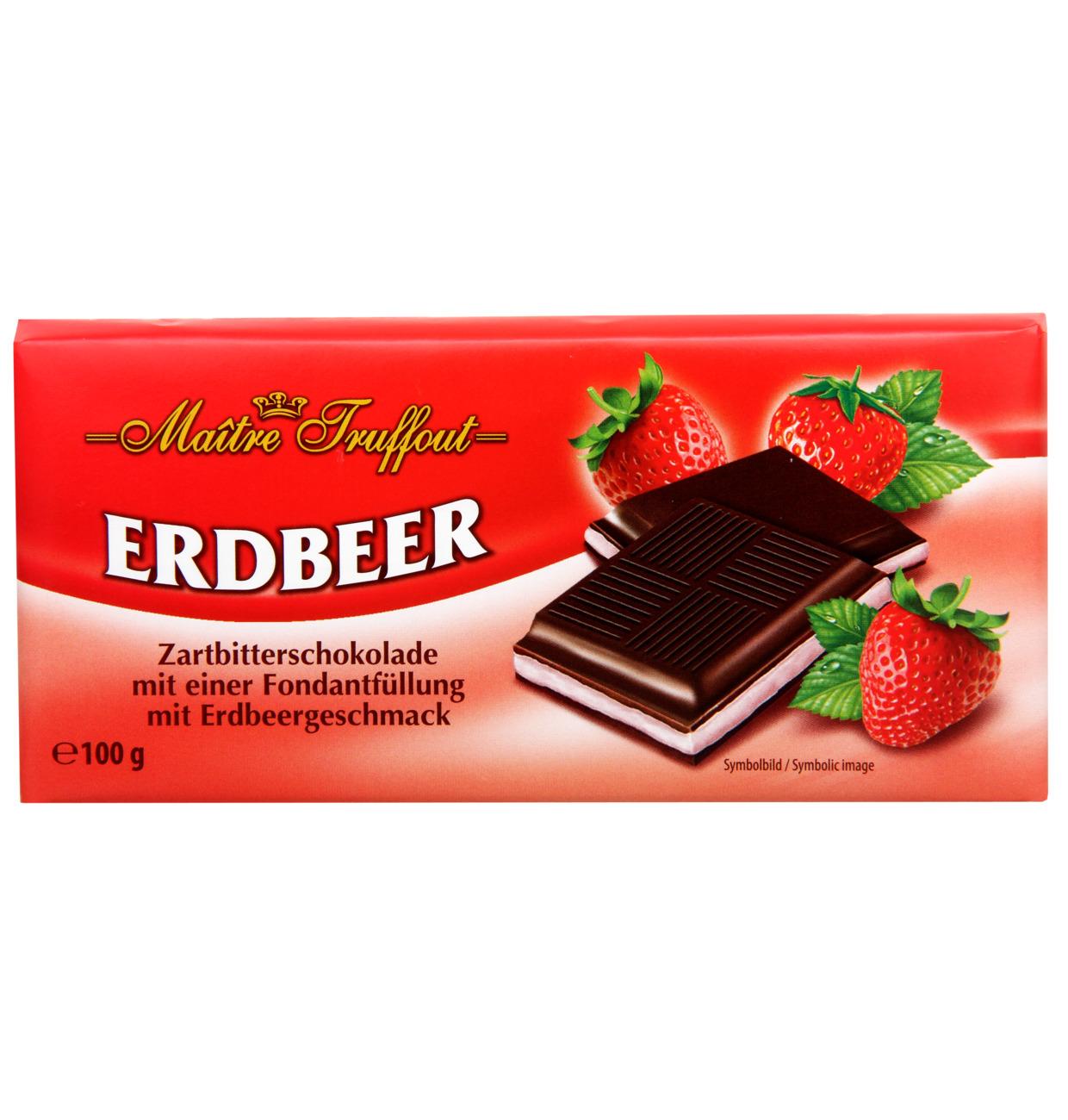 Cremeschokolade Erdbeer