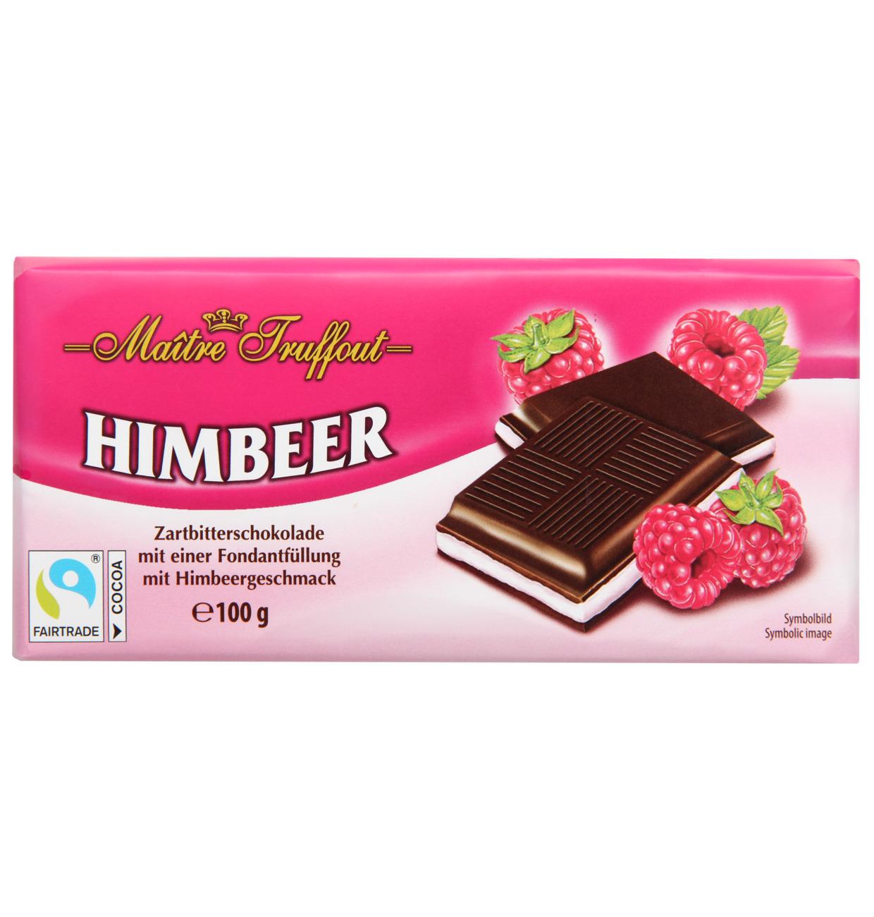 Cremeschokolade Himbeer