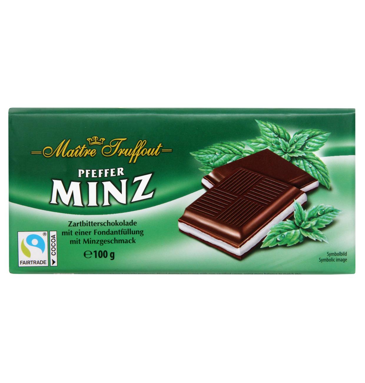 Cremeschokolade Pfefferminz