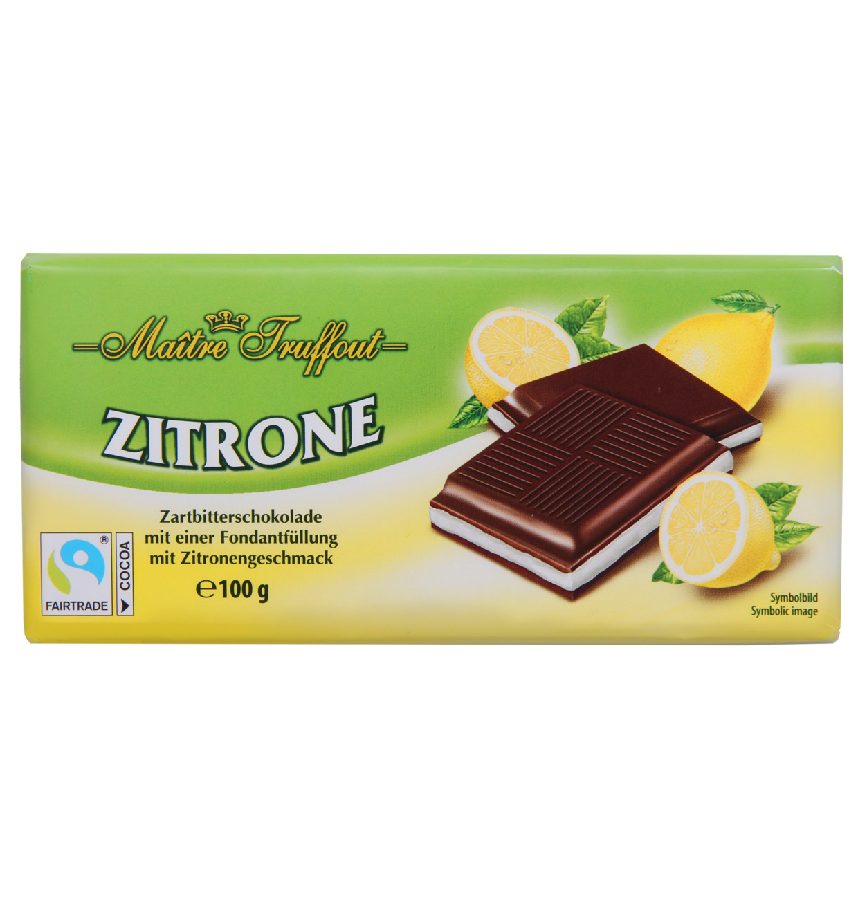 Cremeschokolade Zitrone