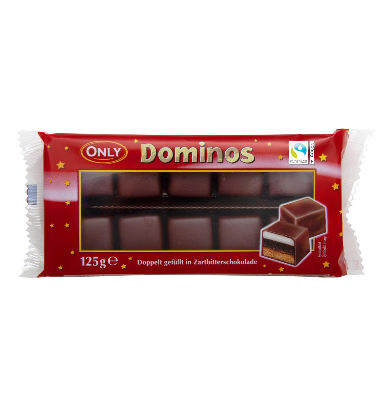 Dominosteine mit Zartbitterschokolade