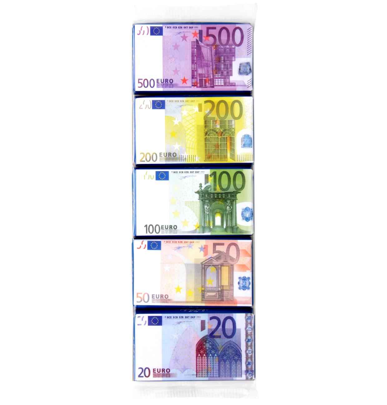 EURO-Banknoten Milchschokolade