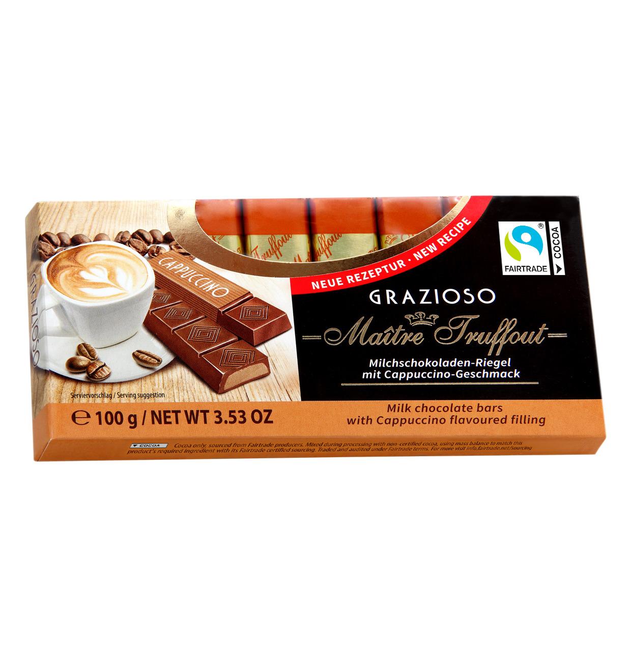 Grazioso Milchschokolade mit Cappuccinocreme