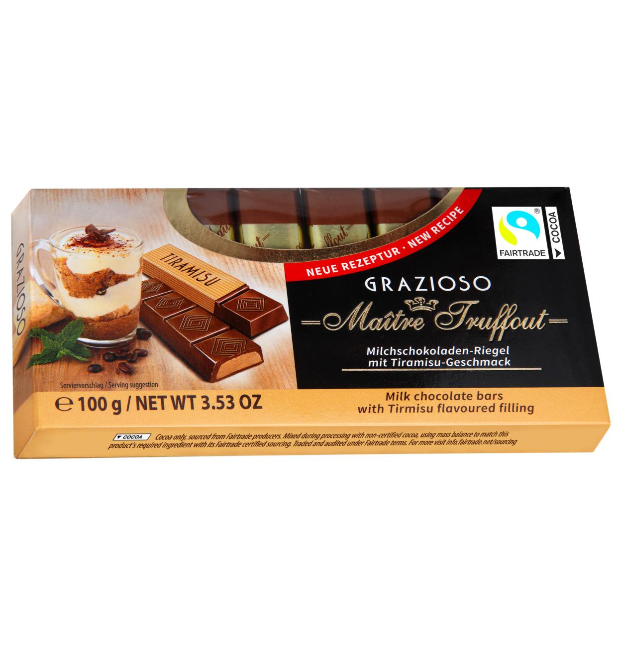 Grazioso Milchschokolade mit Tiramisucreme