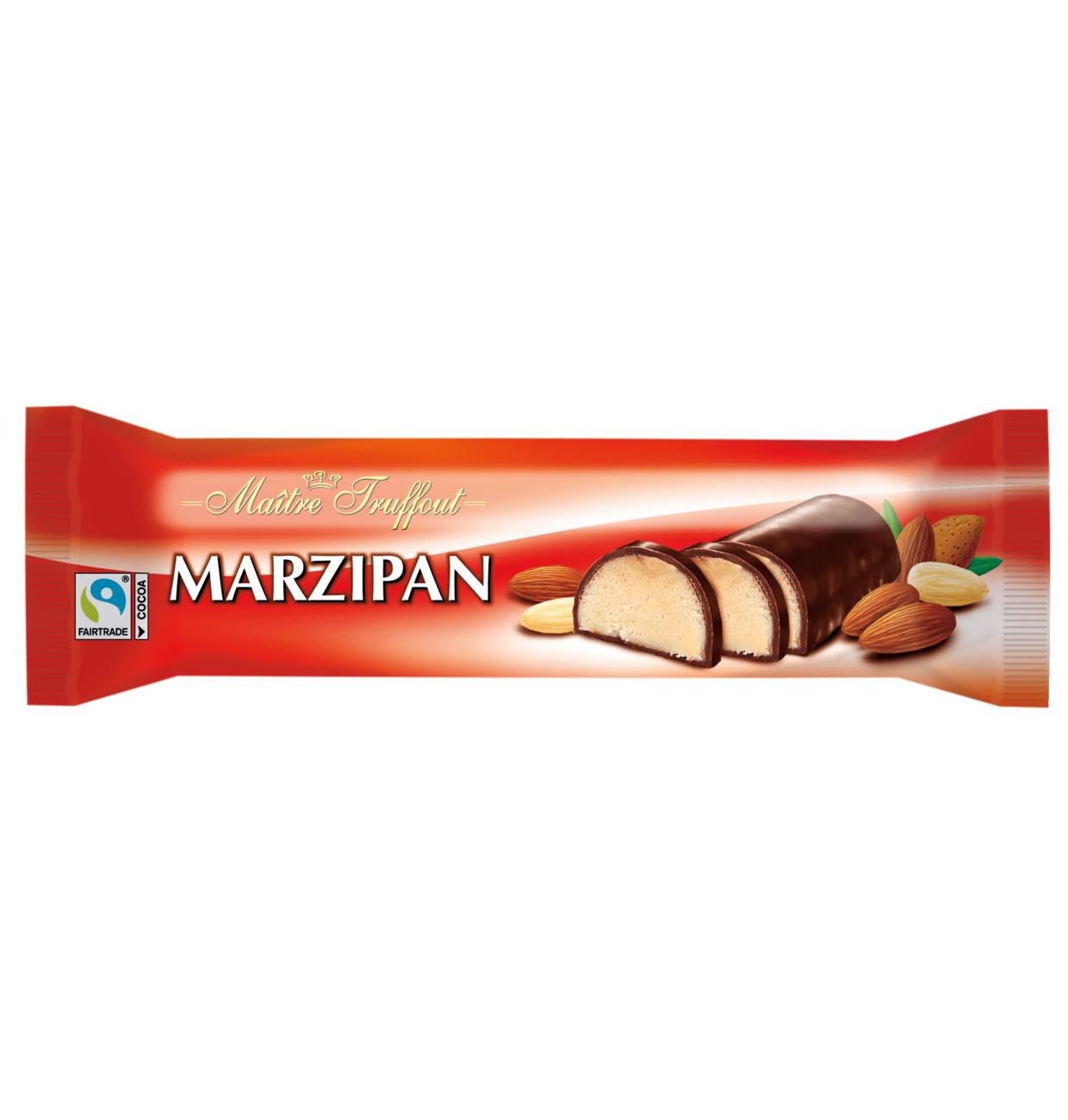 Marzipanriegel mit Zartbitterschokolade