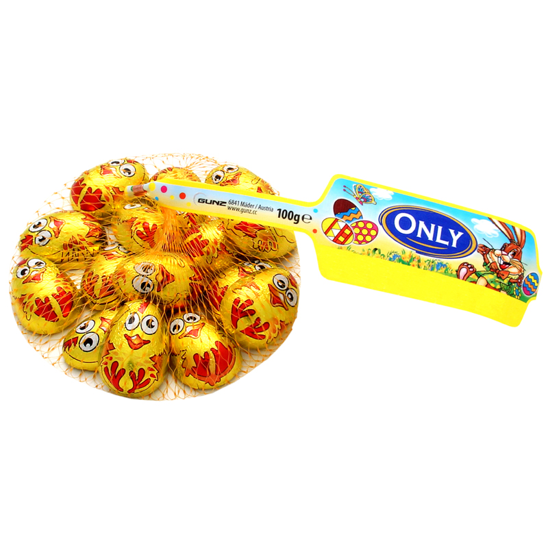 Milchschokolade Goldene Küken