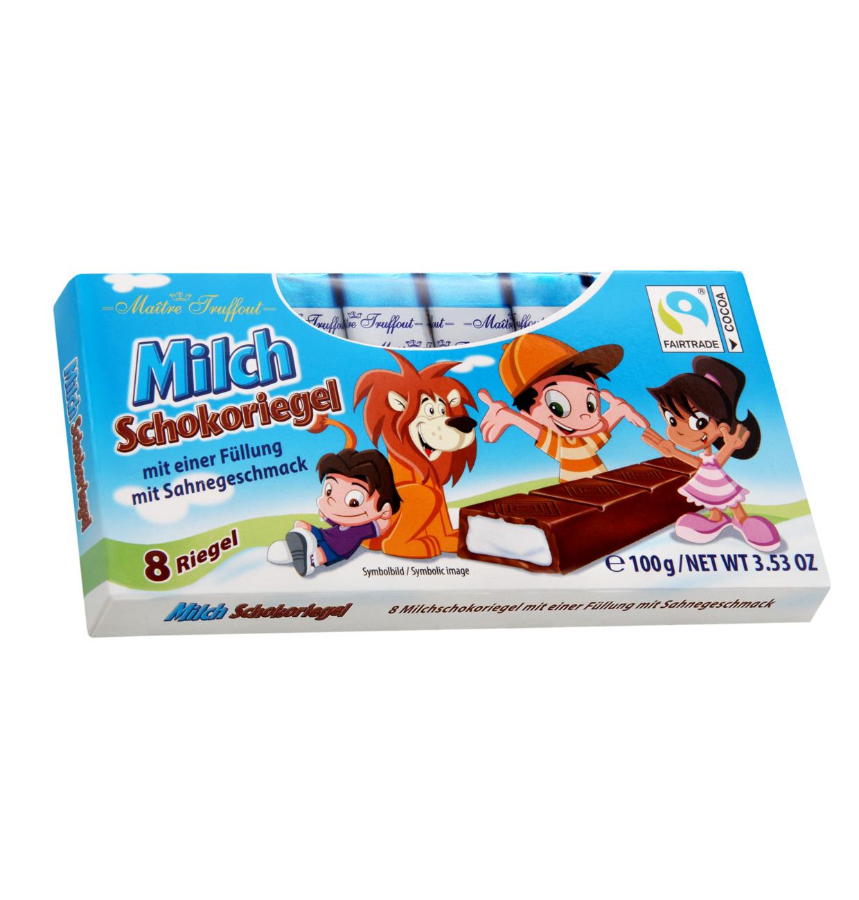 Milchschokolade mit Milchcremefüllung