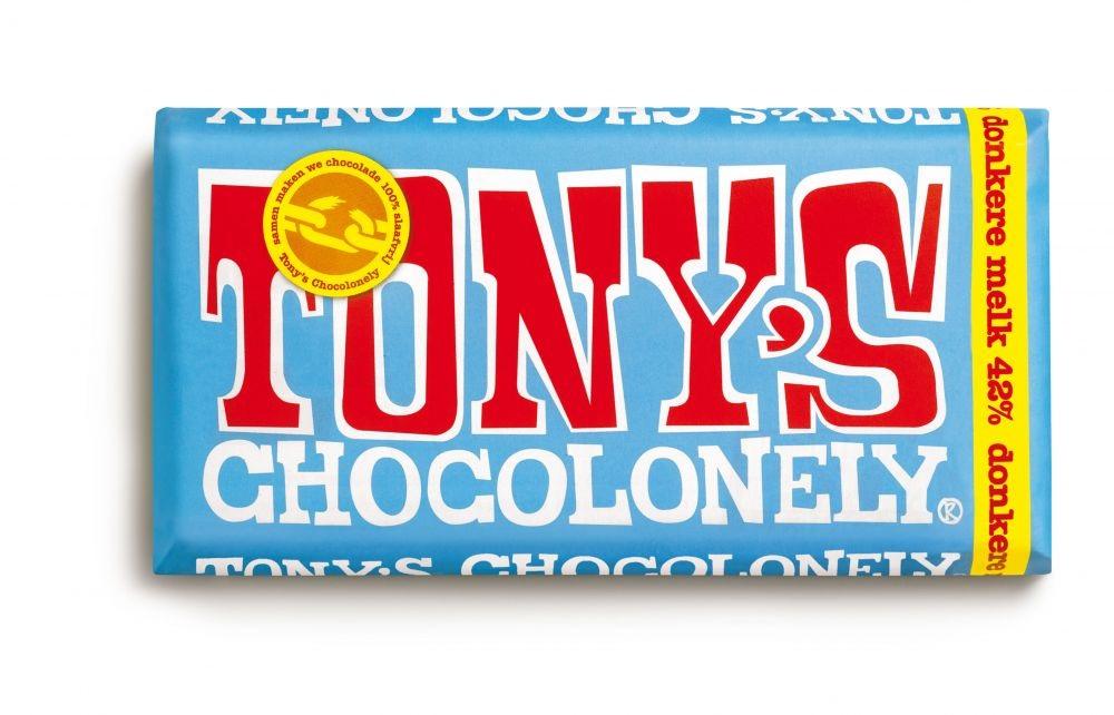 Donkere melkchocoladerepen 42pct 180gr FT, 15 stuks