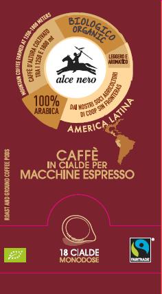 CAFFE' ARABICA BIO 18 CIALDE - CFCI018