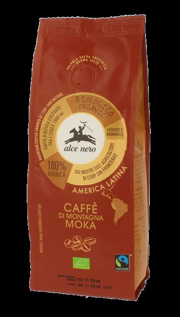 Alce Nero - Caffè arabica BIO Moka - 250gr