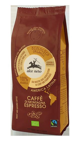 CAFFE' ESPRESSO BIO ALCE NERO FAIRTRADE - CF250ES