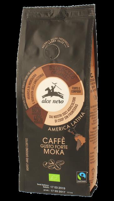 Alce Nero – Caffè Forte Moka bio – 250gr