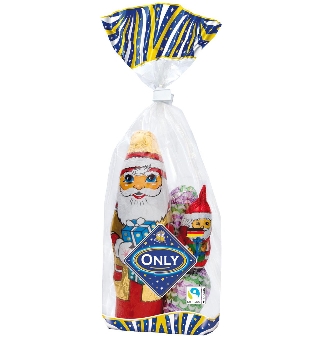 Milchschokolade Weihnachtsmann Mischung