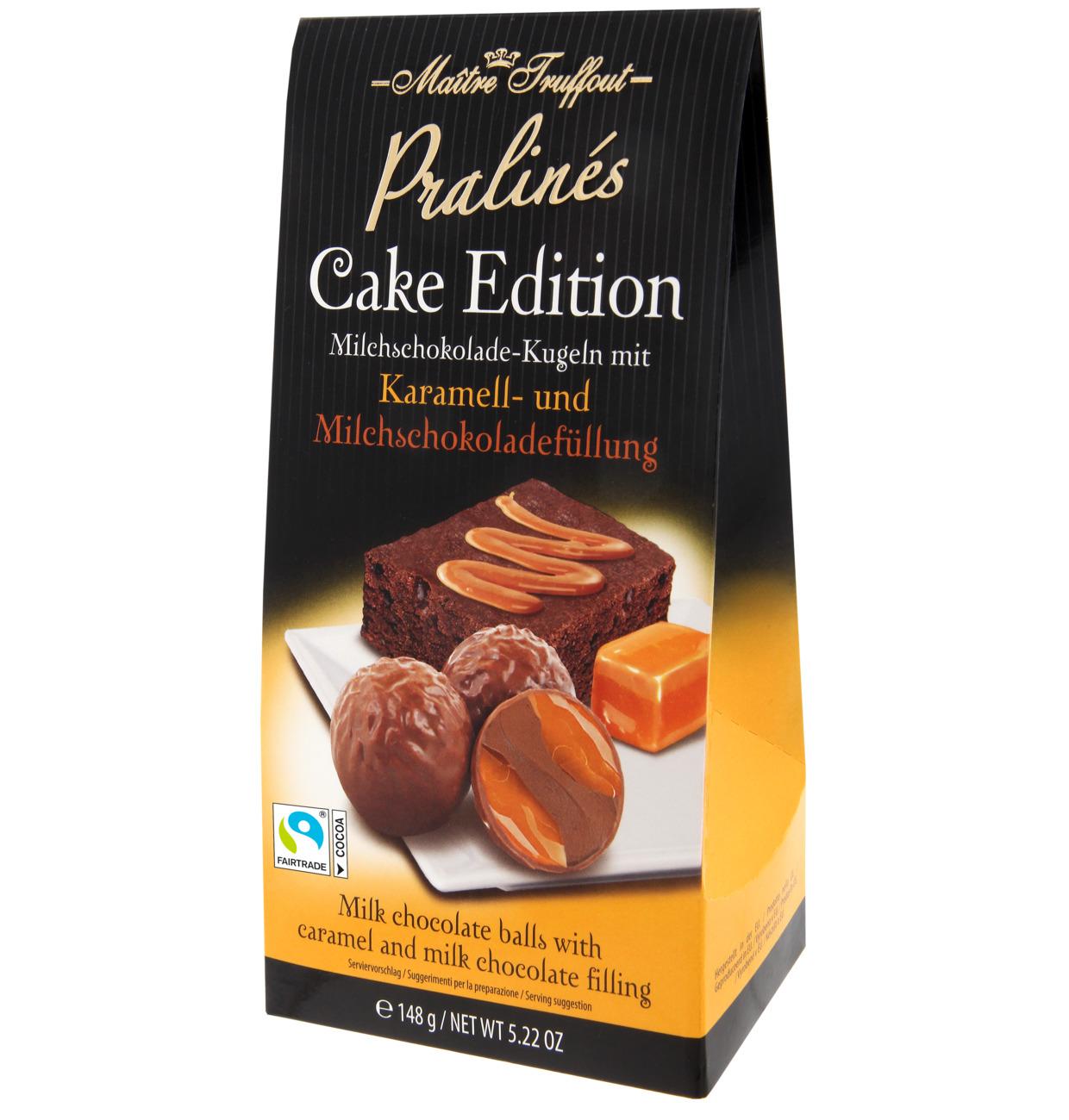 Pralinen Cake Edition – Karamell & Milchschokolade