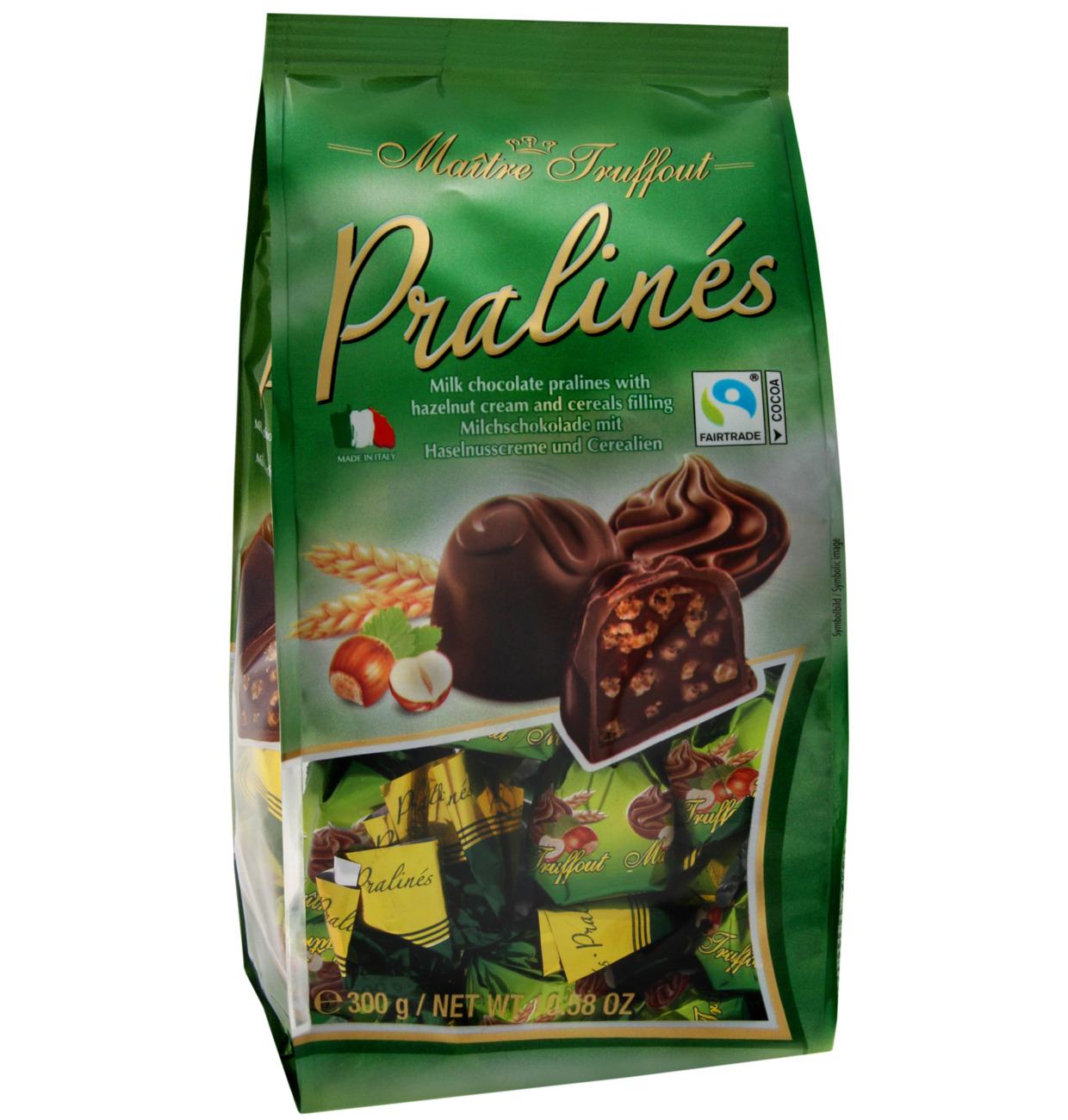 Pralinen Milchschokolade Haselnuss & Cerealien