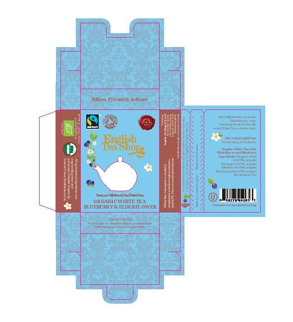 White Tea Blueberry & Elderflower Individual Infuser