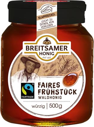 Faires Frühstück Waldhonig