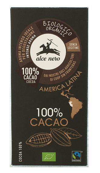 Alce Nero – Tavoletta Cacao BIO 50gr
