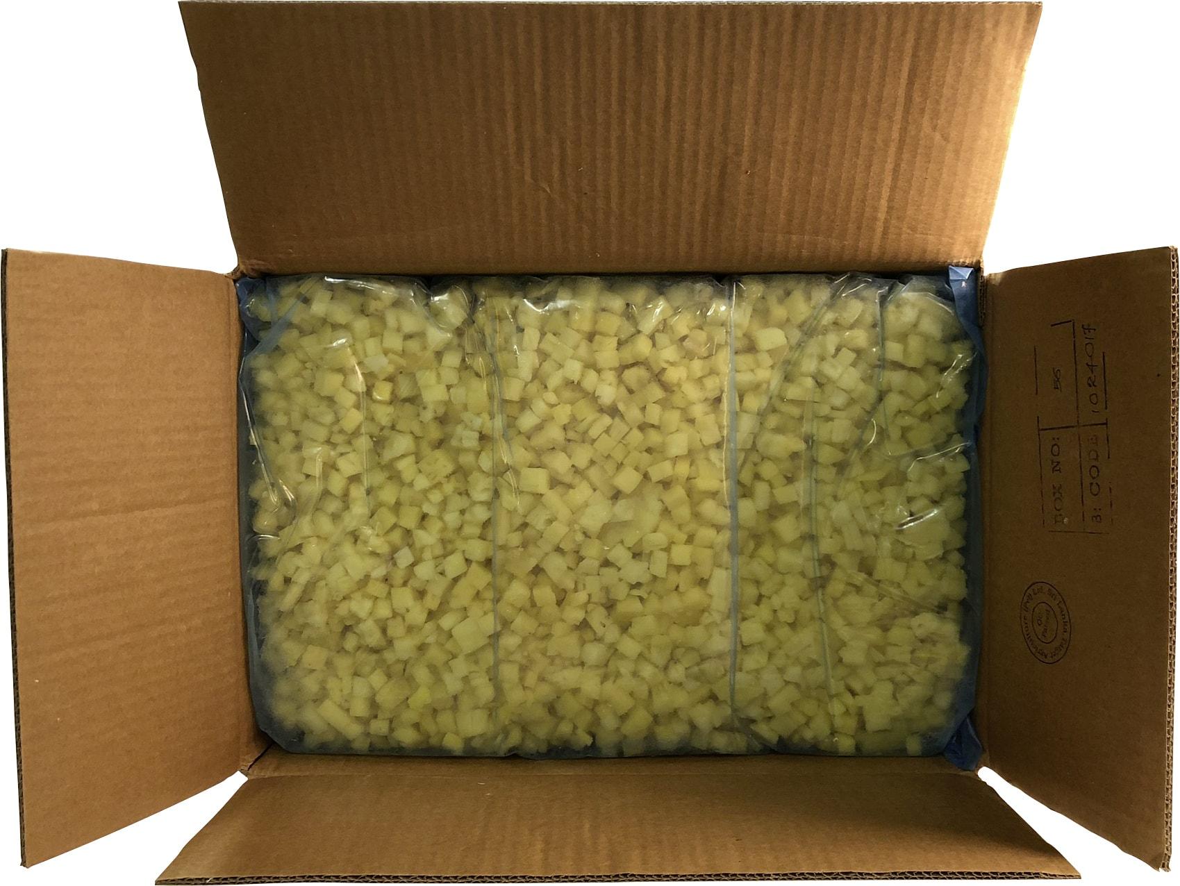 Ananaswürfel, tiefgekühlt (4x2.5kg)