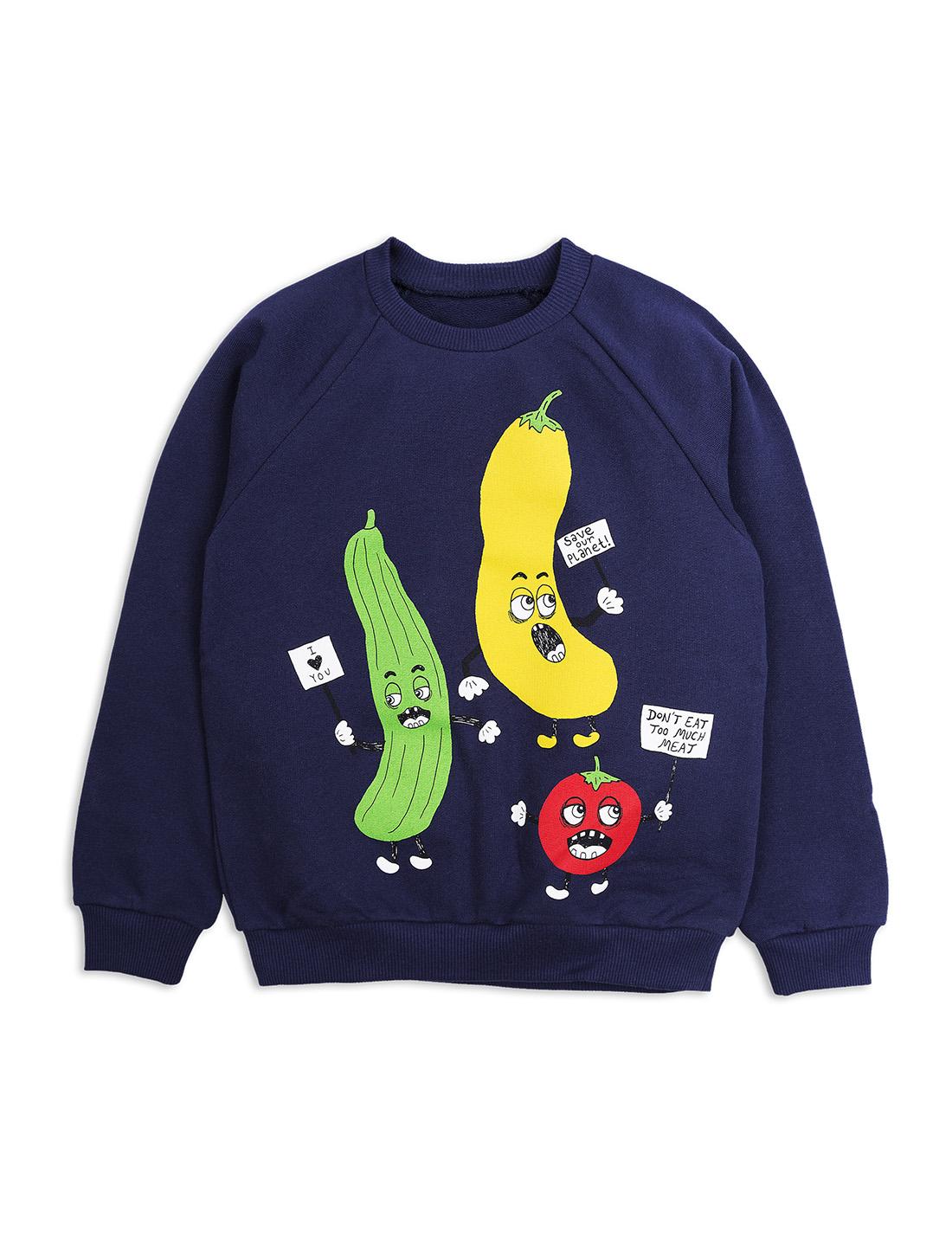 Veggie sweatshirt Navy