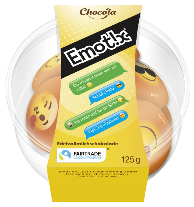 Emoticons Edelvollmilch-Schokolade