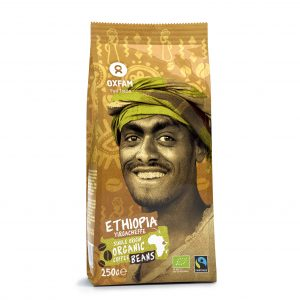 Oxfam Fair Trade – Café Ethiopie bio en grains – 250 gr
