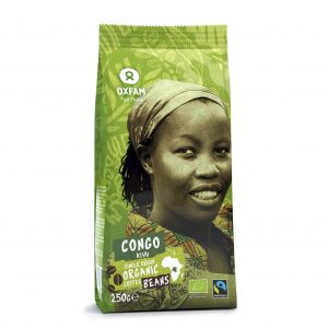 Oxfam Fair Trade – Café Congo bio en grains – 250 gr