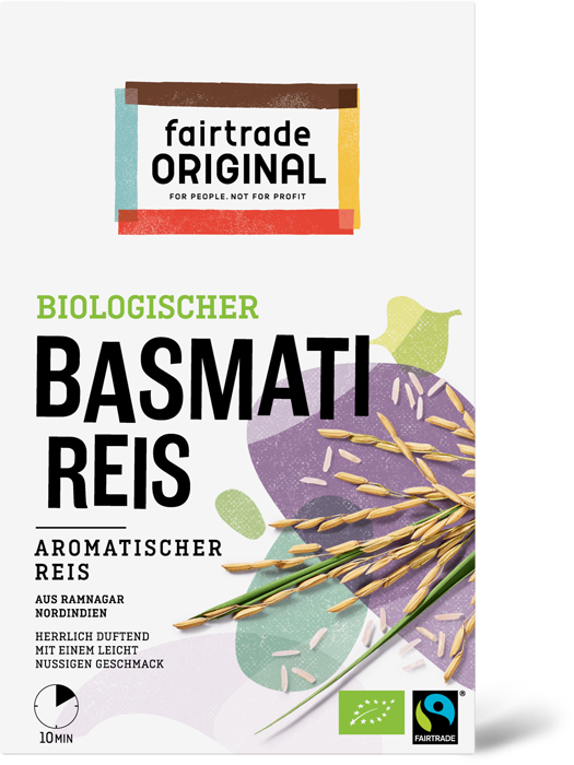 Basmati Reis, Fairtrade, Bio, 400g