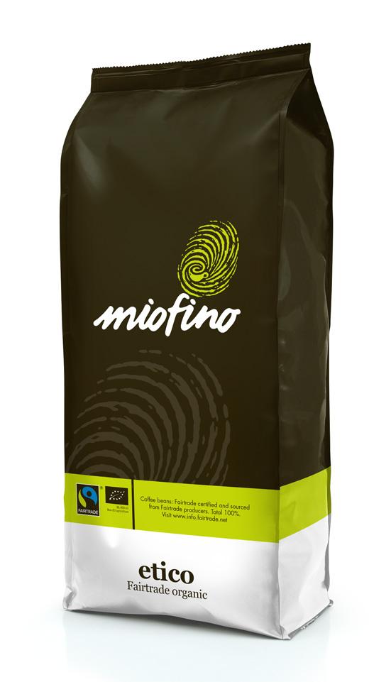 Miofino Beans Etico Fairtrade organic