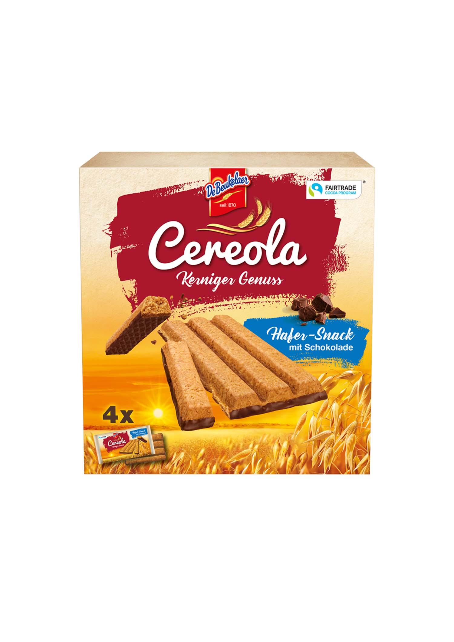 DeB Cereola Hafer-Snack 136g