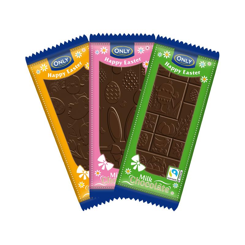 Milchschokolade Ostern
