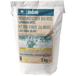 Nordindischer Langkorn Reis, weiss