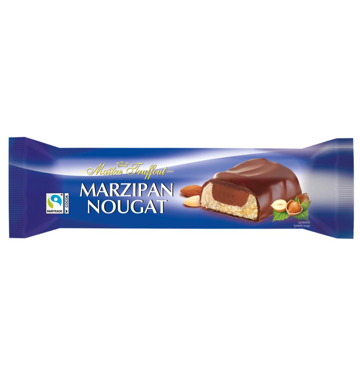 Marzipan-Baumstamm mit Nougat