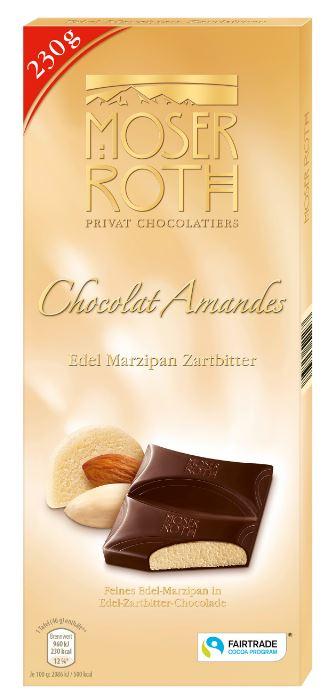Chocolat Amandes Edel-Marzipan-Zartbitter