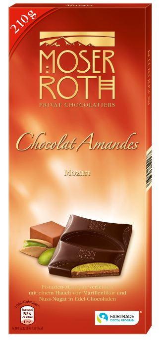 Chocolat Amandes Mozart