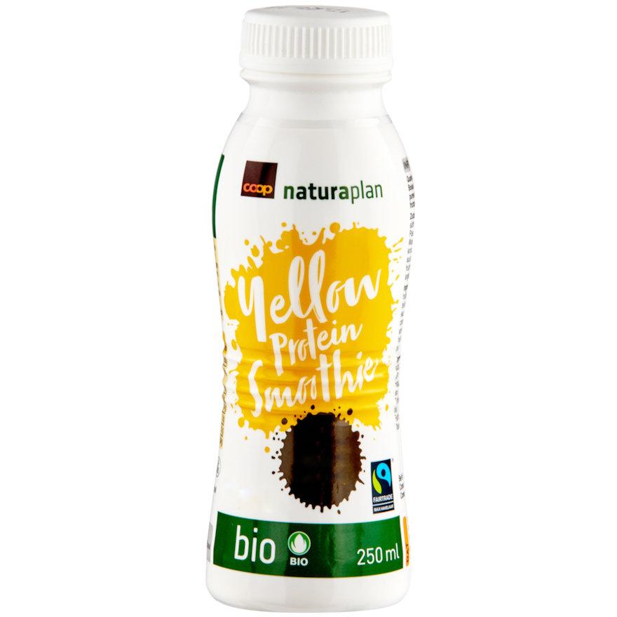 Yellow Protein Smoothie, Heidelbeere-Banane