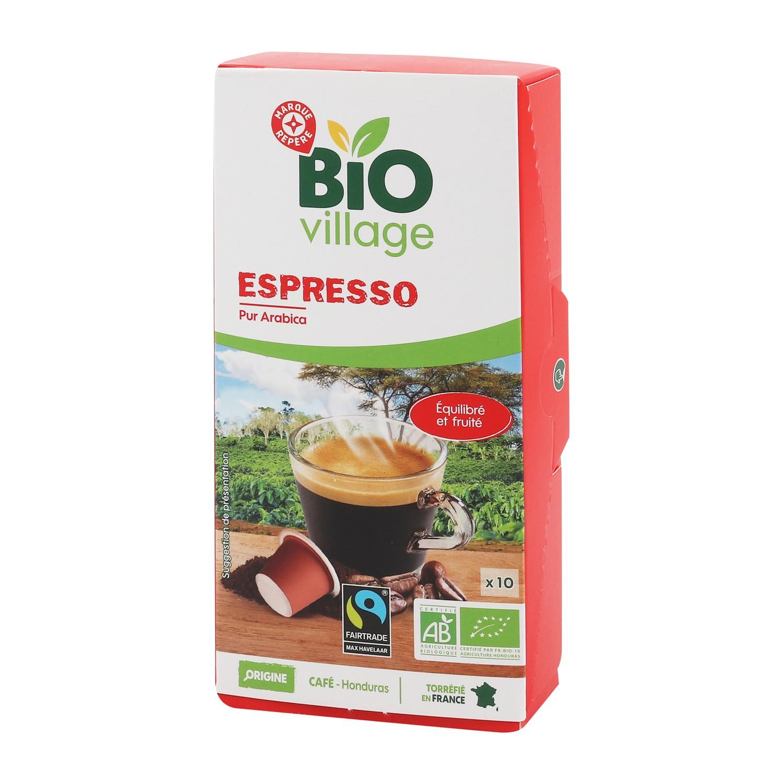 Café 10 capsules bio Honduras 55g