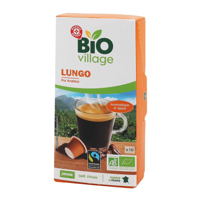 Café 10 capsules bio Ethiopie 55g