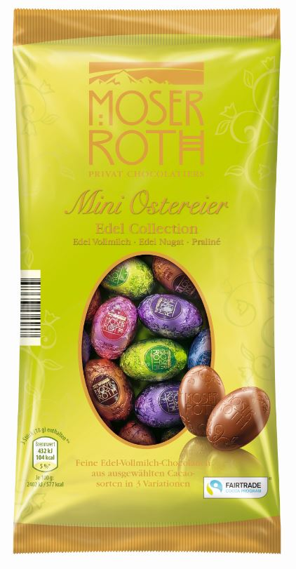 Moser Roth Mini Ostereier Edel Collection